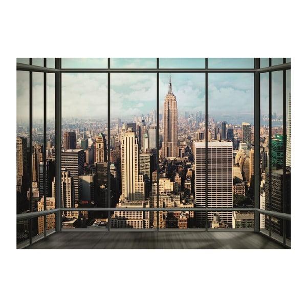 Tapeta wielkoformatowa New York Window, 360x253 cm