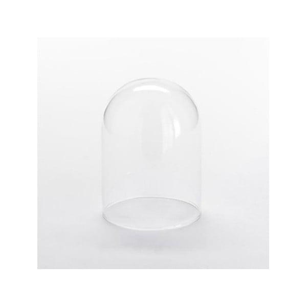 Komplet 4 szklanych pokryw Thick, 7,5x10 cm