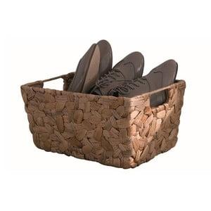 Brązowy koszyk z hiacynta wodnego Compactor Hyacinth, szer. 40 cm