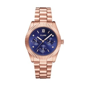 Zegarek damski Sarabande Stones Royal Blue, 38 mm