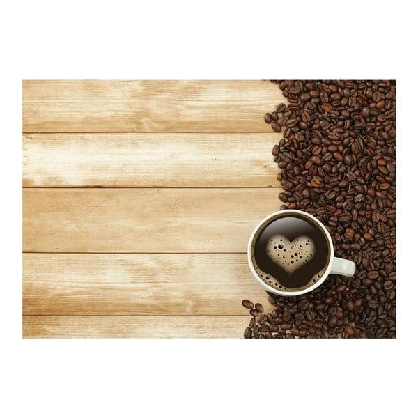 Dywan winylowy Coffee, 52x75 cm