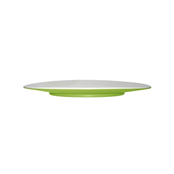 Talerzyk deserowy Entity Green, 21 cm