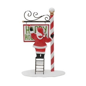 Świąteczna dekoracja w kształcie Mikołaja InArt Gina
