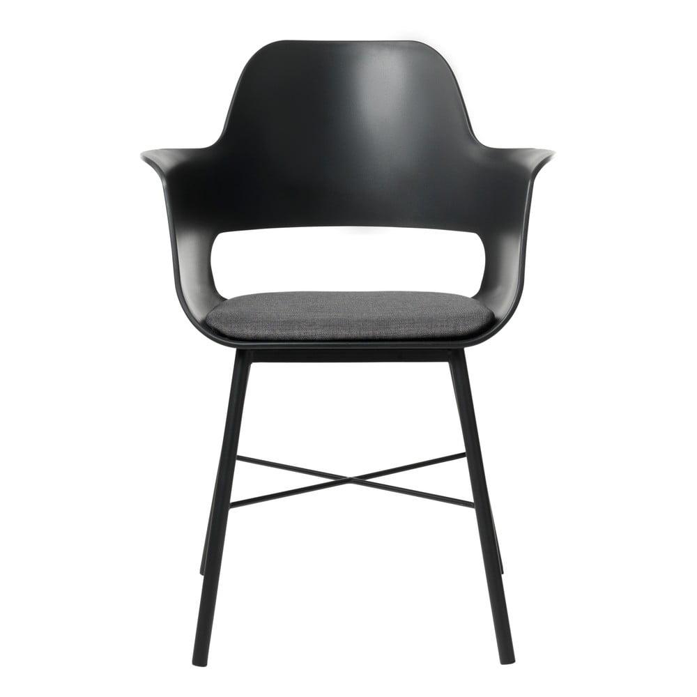 Czarne krzesło Unique Furniture Wrestler