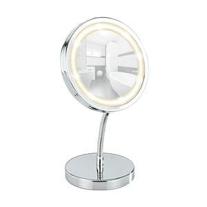 Kosmetyczne lusterko ścienne z LED Wenko Brolo