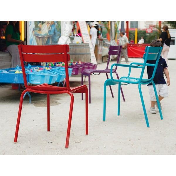 Zestaw 2 liliowych krzeseł Fermob Luxembourg
