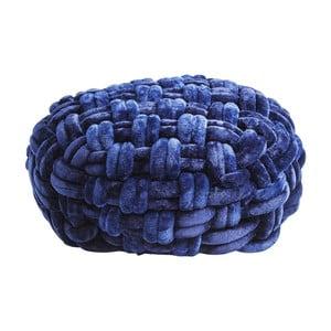 Niebieski puf Kare Design Olivio