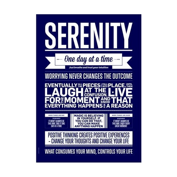Plakat autorski Serenity, A3