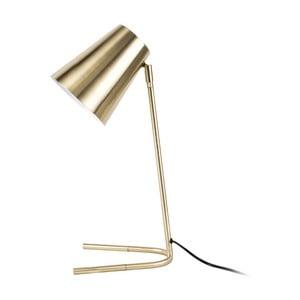 Lampa stołowa w złotym kolorze Leitmotiv Noble