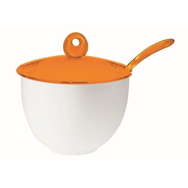 Pomarańczowa cukiernica Fratelli Guzzini Art