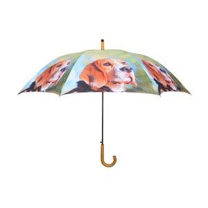Jasnozielony parasol w pieski Esschert Design
