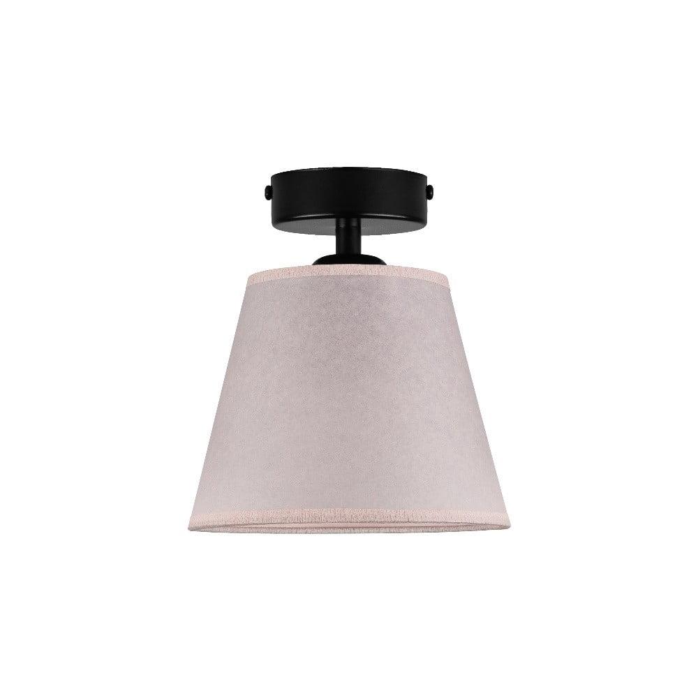 Jasnoróżowa lampa sufitowa Sotto Luce IRO Parchment, ⌀ 16 cm