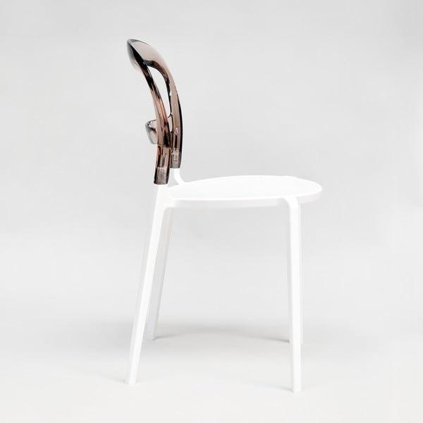 Krzesło Thalassa Brown/White