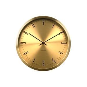 Złoty zegar Present Time Cased Index
