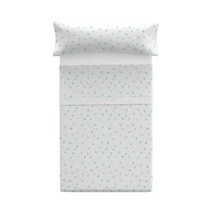 Poszewka na poduszkę z prześcieradłem Pooch Confetti Azul, 125x45cm