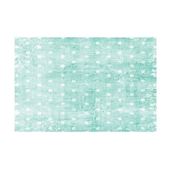 Winylowy dywan Topos Turquesa, 99x120 cm