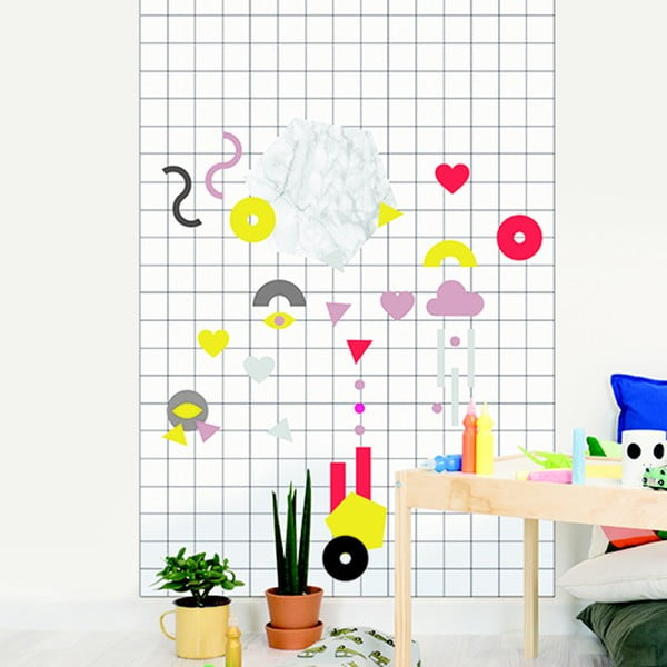 Naklejka Chispum Magnet Wall Sticker Shapes