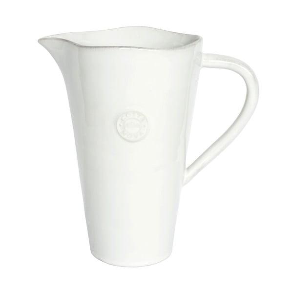 Biały ceramiczny dzban Ego Dekor Nova,1,5l