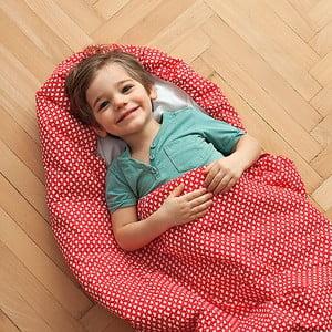 Śpiwór dziecięcy Bartex Serduszka, 70x200 cm