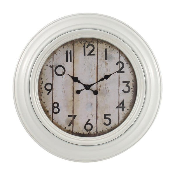 Zegar z patyną, biały