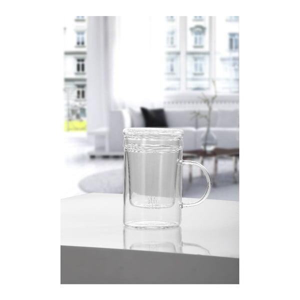 Szklany czajnik Denisse, 400 ml