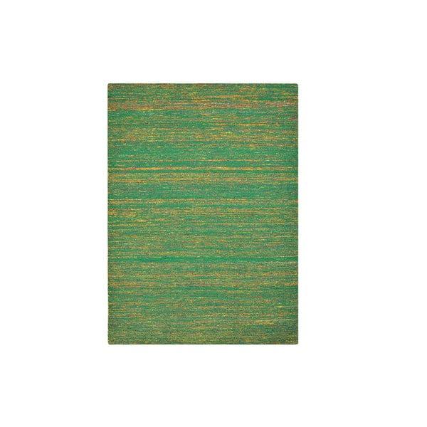 Dywan ręcznie tkany Kilim Sari Silk Green, 60x90 cm