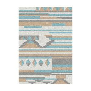 Niebiesko-beżowy dywan Universal Narvik, 57x110cm