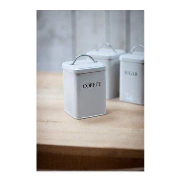 Biały pojemnik na kawę Garden Trading White Coffee