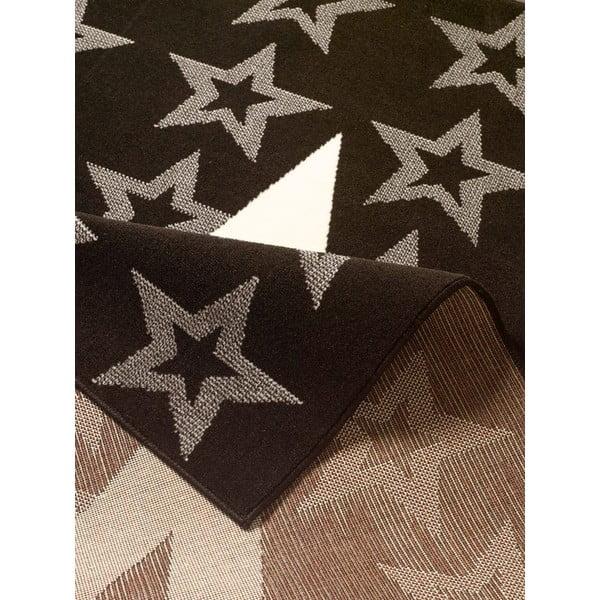 Czarny dywan dziecięcy Hanse Home Star, 140x200cm