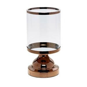 Świecznik Trophy Copper, 13x13x24 cm