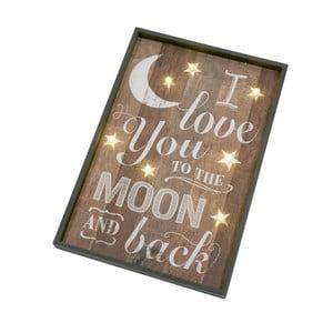 Dekoracyjny napis Heaven Sends Love You to the Moon