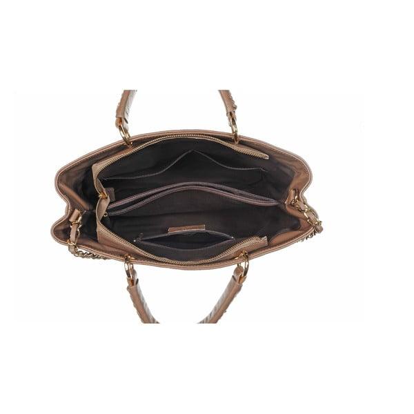 Skórzana torebka Coco Bag Taupe