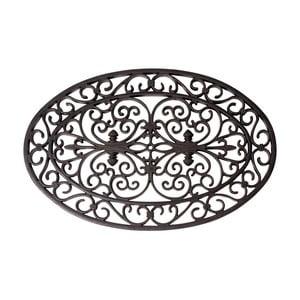 Gumowa owalna wycieraczka Esschert Design Ornamental