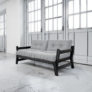 Sofa rozkładana Karup Step Black/Light Grey