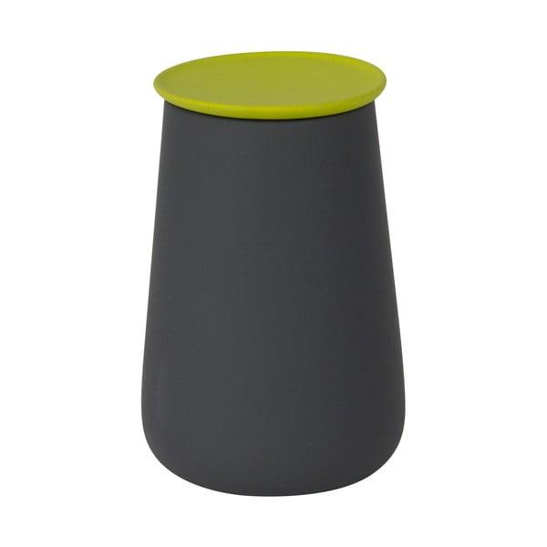 Ceramiczny pojemnik Gomme, szary