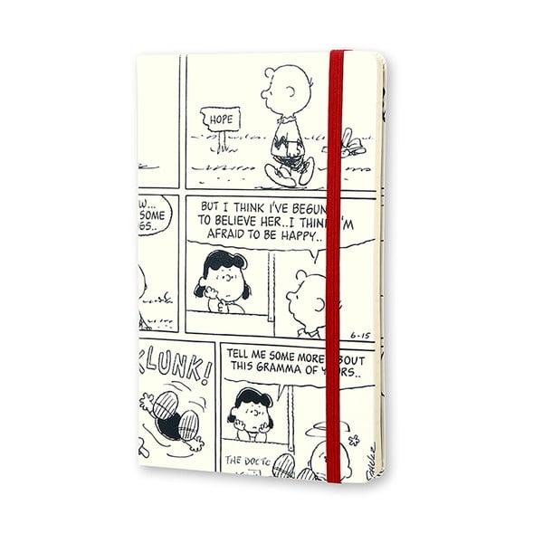 Notatnik tygodniowy  Moleskine Peanuts, 13x21 cm