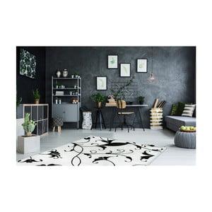 Czarno-biały dywan Obsession My Black & White Baw Whit, 80x150 cm