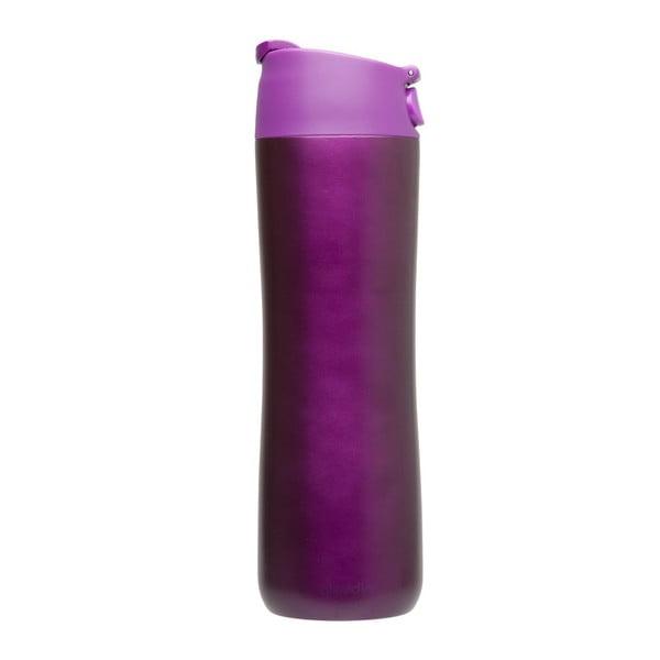 Kubek termiczny Flip & Sip 470 ml, fioletowy
