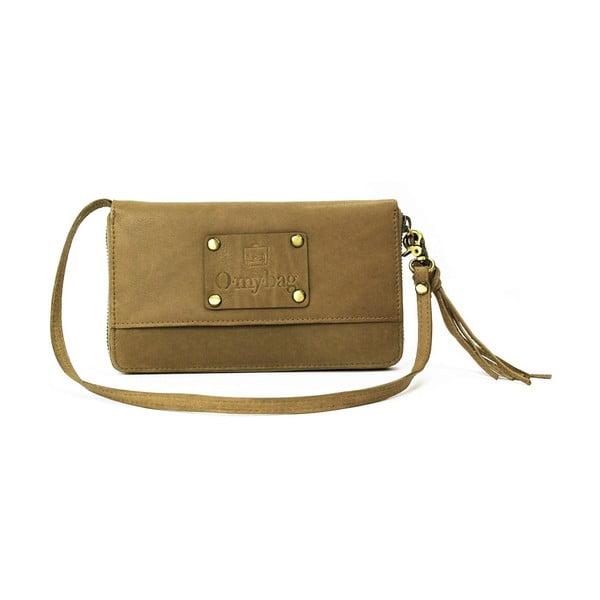 Skórzany portfel Miss Moneypenny, nude