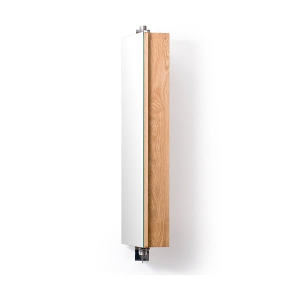 Obrotowe lustro z szafką Wireworks Mezza, 71 cm