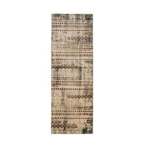 Dywan Galata 38006A 38 Beige/Purple, 80x230 cm