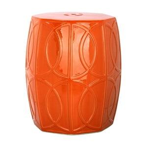 Stolik ceramiczny  Fiona Orange