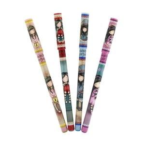 Zestaw 5 żelowych długopisów Santoro London Mixers
