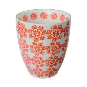 Porcelony kubek Teacup Red, 8,7x9,8 cm