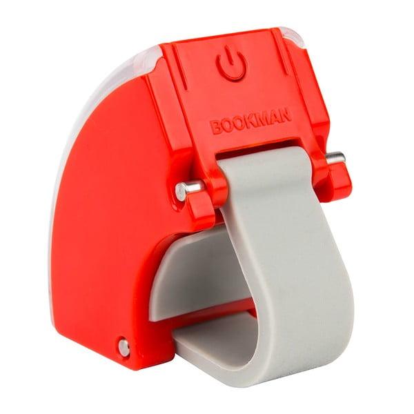 Czerwone świało przednie USB Bookman