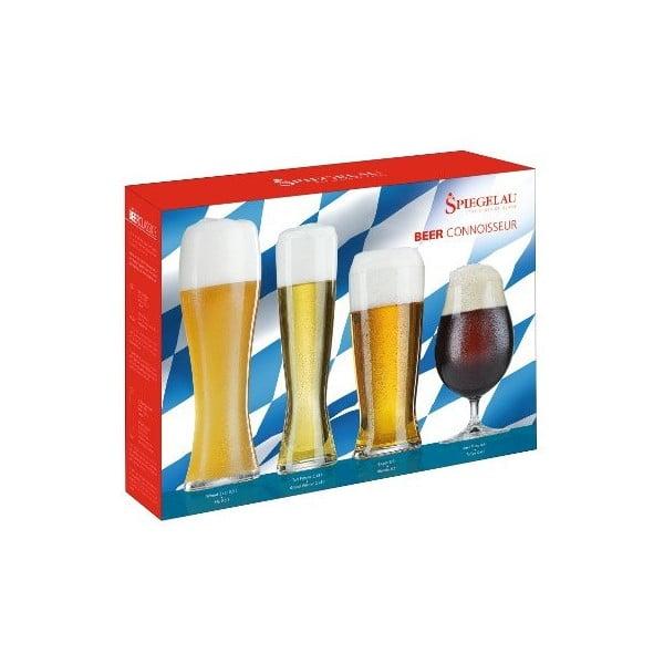 Zestaw 4 szklanek do piwa Connoisseur