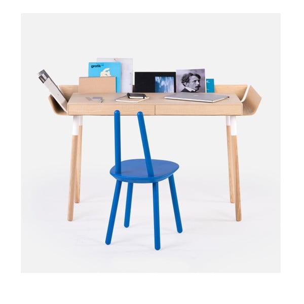Naturalne  biurko z 2 szufladami EMKO My Writing