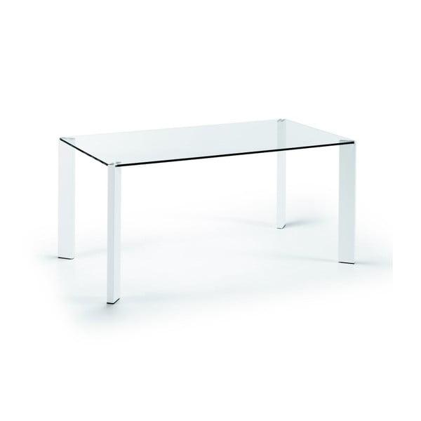 Stół do jadalni Corner, 160x90cm, białe nogi