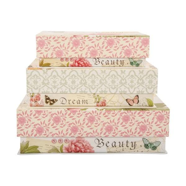 Zestaw 3 pudełek Beauty