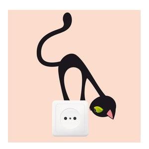 Naklejka Ambiance Curious Cat